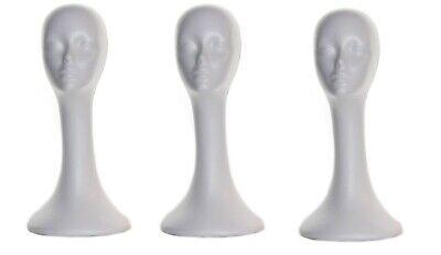 Long Neck Female Foam Head Model Glasses Hair Wig Mannequin Hat Stand Styro