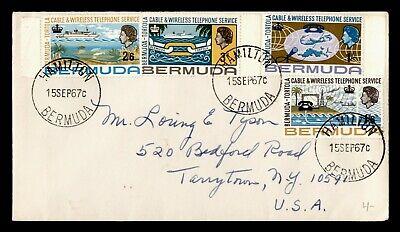 DR WHO 1967 BERMUDA HAMILTON TO USA C243338