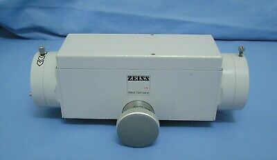 Carl Zeiss Opmi Md Surgical Microscope Beam Splitter Dual Head