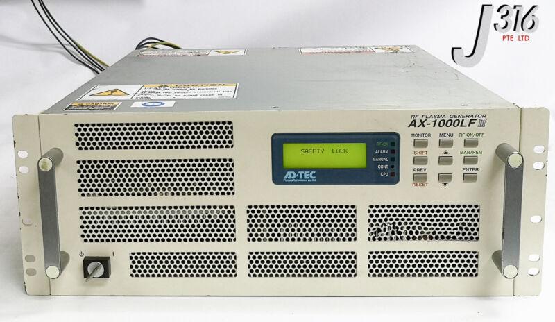 19111 Adtec Rf Plasma Generator, 1000w(400khz) Ax-1000lfiii