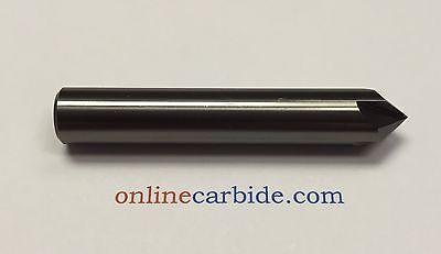 12 4 Flute 90 Degree Carbide Chamfer Mill