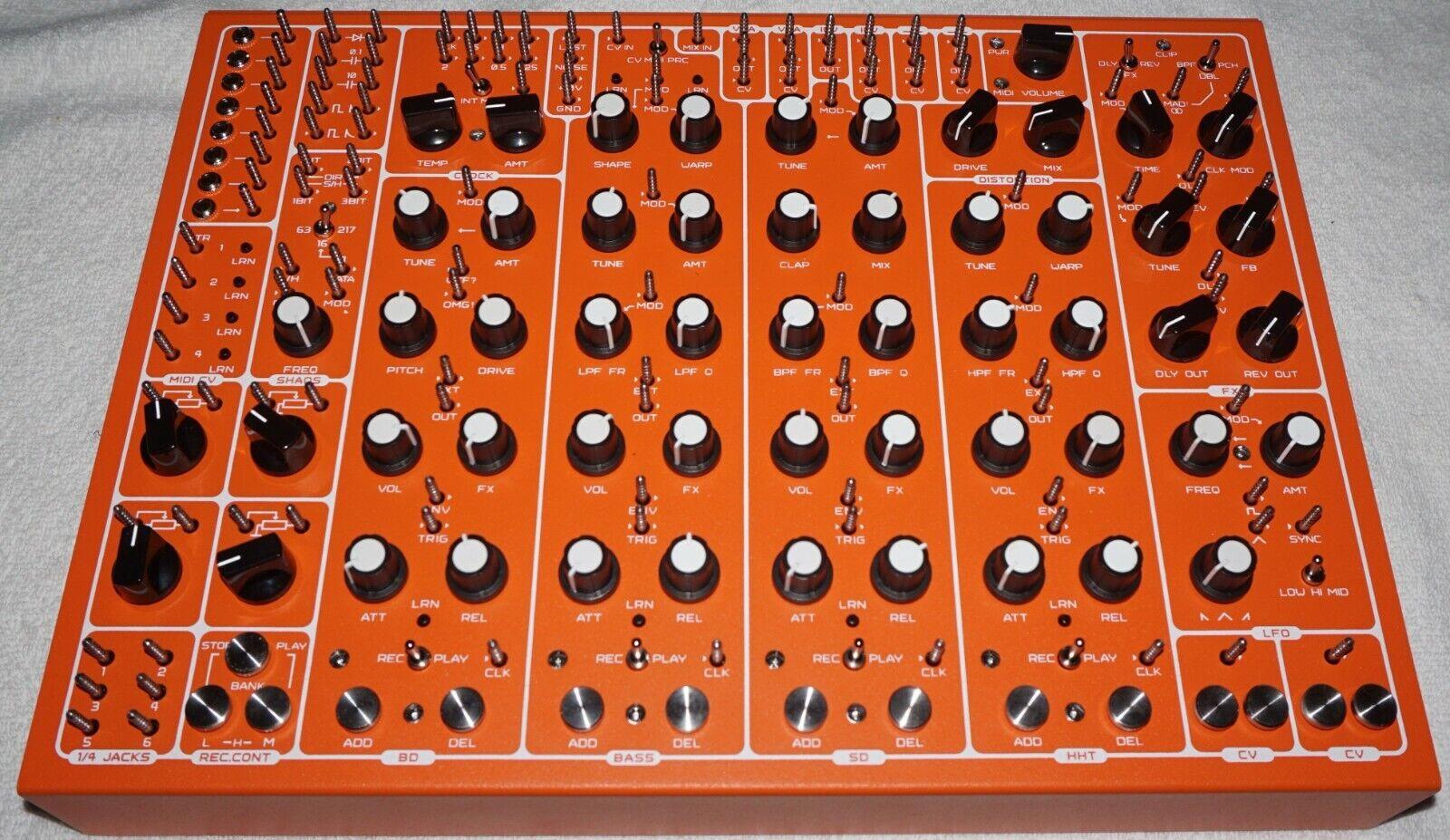 Soma Laboratory Pulsar-23 Orange Modular Analog Orgasmic Drum Machine NEW - $2,100.00