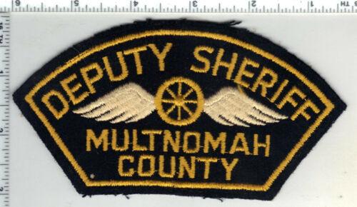 Multnomah County Deputy Sheriff (Oregon) FELT Uniform Take-Off Shoulder Patch