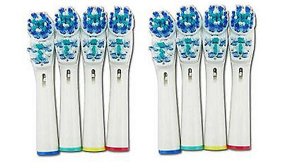 8 PCS Replacement Electric Toothbrush Heads Soft SB-417A For Oral B Braun