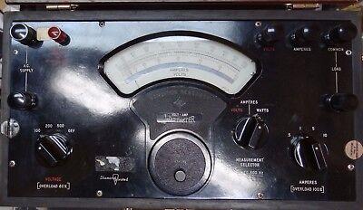 Singer Sensitive Research Volt-amp-wattmeter Model Vaw 50-800 Cs