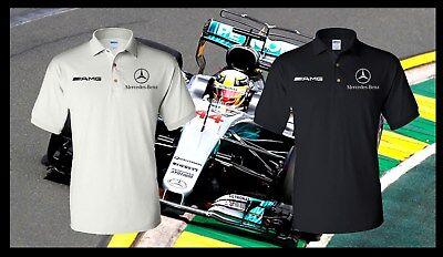 Mercedes Benz Polo Shirt   Amg   Automotive   Racing   Dtm   Quality   F1
