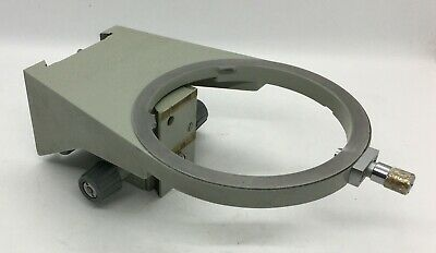 Carl Zeiss Jena Amplival Eduval Support For Stage And Condenser Microscope