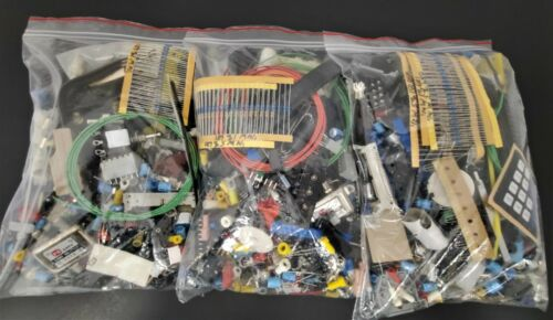 3 Lb Miscellaneous Electronic Component Grab Bag - DIY Assortment - Geek