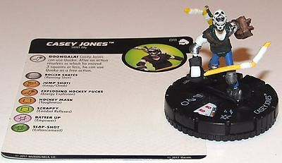 CASEY JONES 011 Teenage Mutant Ninja 3 Turtles Shredder's Return HeroClix - Tmnt Casey Jones 2017