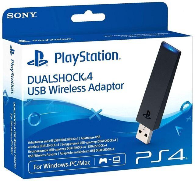Sony PlayStation 4 DualShock USB Wireless Adaptor for PC/Mac NEW BOXED