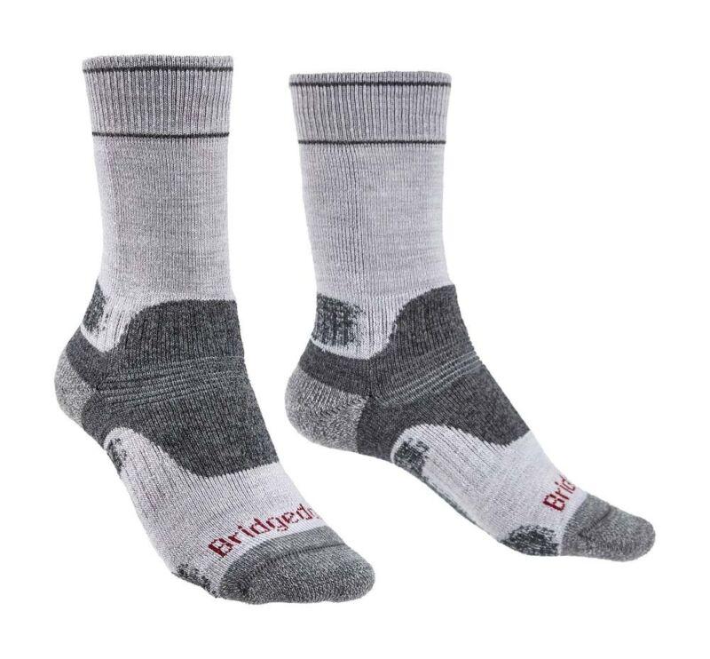 Bridgedale Hike Midweight Merino Performance Women Socks- Silv/Gy