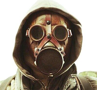 Wasteland Gas Mask with Hood, 725001, HMS LTD, APOCALYPSE