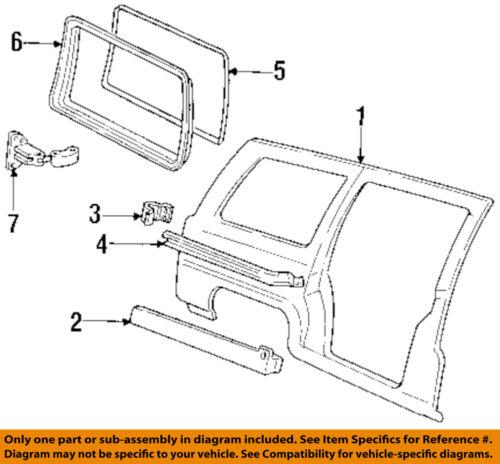 Genuine GM Lower Track 15864152