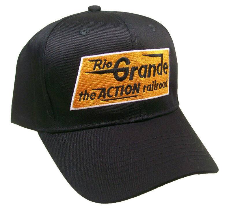 Rio Grande The Action Railroad Embroidered Cap Hat #40-2800