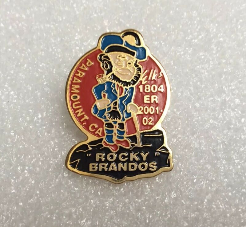 BPOE Elks Lodge 1804 Paramount CA Hat Lapel Pin Pinback 2001