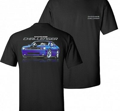 Dodge 2009-2015 Challenger  Mens Black T shirt Mopar 2009 Men Shirt