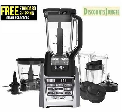 Ninja Auto-iQ Come to Boost Kitchen Nutri Food Processor Blender System BL687CO