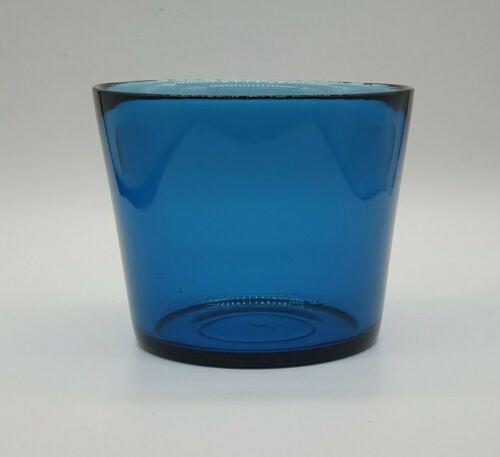 Vintage Glass Bowl: Orrefors of Sweden: Fuga Range by Sven Palmqvist, Blue 1950s