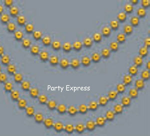 12 BEAD NECKLACES, BEADS ..... HALLOWEEN, HEN PARTY, MARDI GRAS