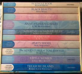Oxford Childrens Classic Book Set. Brand New Unused