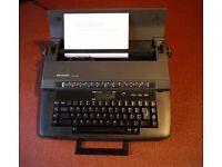 Vintage 1980s Sharp PA-3120 Electric (Electronic) Typewriter