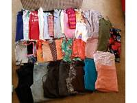 Ladies bundle of size 8-10 clothes