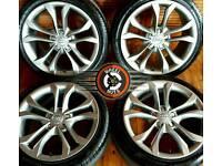 "18"" Genuine Audi Alloys Refurbished Gunmetal Grey. Matching Pirelli Tyres."