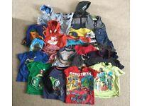 Large bundle of boys clothes age 2-3