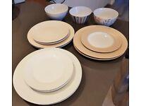 FREE plates + bowls
