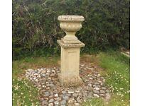 Large Stone Planter / Urn