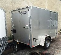 2016 Stealth Trailers STEALTH 6X10 SLOPE V NOSE CONTRACTOR TRAIL