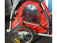 Halfords trail buggy (single) tyres need inflated. Suitable for all bikes