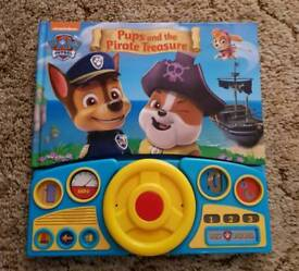 Paw patrol book with sounds