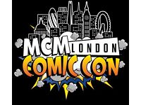 2x Priority Weekend Pass Tickets - MCM London COMIC CON