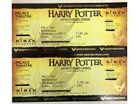 2 x Harry Potter & The Cursed Child Tickets - Part TWO only - Weds 30th August - Dress Circle Row C