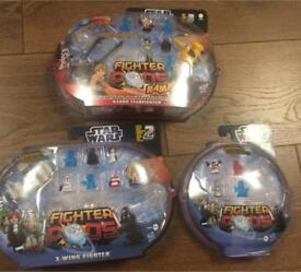 Star Wars Fighter Pods.Brand New In Packs.