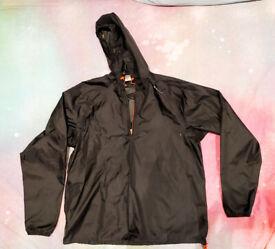 Quechua Water/Windproof Black Jacket - UNISEX