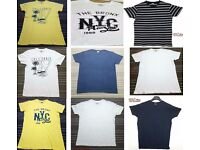 Job lot of Mens summer T-shires / Vest top/ various size 100% cotton