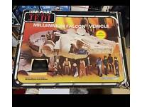 Vintage Star Wars Millennium Falcon box