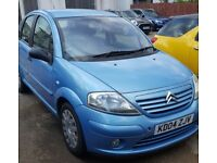 Excellent condition Citroen C3 for sale - MOT and full service done last month. New Battery