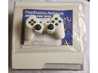 SONY PLAYSTATION 3 CLASSIC WHITE RARE 320GB LIMITED EDITION BOXED SLIM PS3 CONSOLE