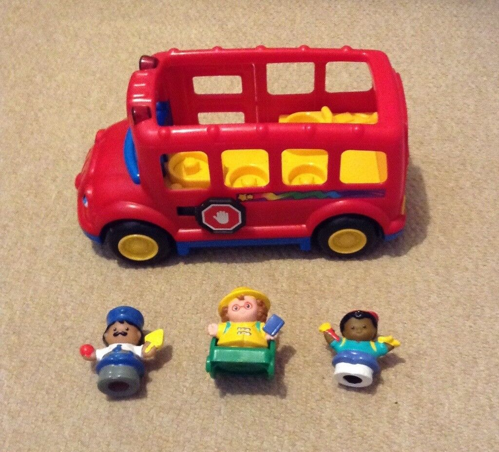 Fisher Price Red School Bus | in Stoke-on-Trent, Staffordshire ...