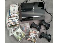 Playstation 3 (PS3) Console with 11 games