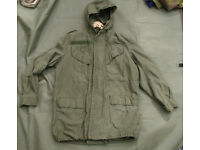 Belgian Special Forces Para Commando Field Jacket - Size Large