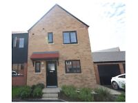 3 Bedroom House with Garage and Garden for rent. Earsdon View Whitley Bay .