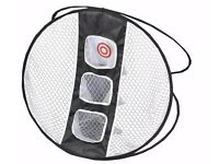 Golf Chipping Net. Indoor/Outdoor Golf Practice, New and Boxed. Perfect Golfer Gift 90cm Large Size