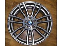 "GENUINE BMW 403M FRONT ALLOY WHEEL 19"" 403 ALLOYS 8J F30"