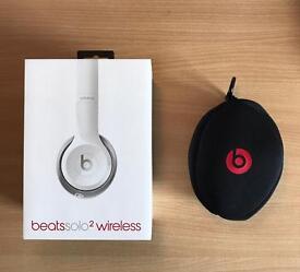 Beats Solo 2 Wireless white headphones - Perfect condition £100 ONO