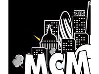 Mcm comic con Sunday