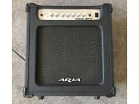 • Aria AB-30 Bass Amplifier/Music Stand/Guitar Stand
